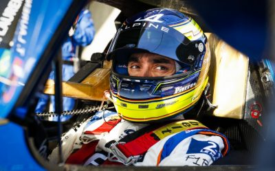 SOLID FOURTH FOR PIERRE RAGUES AND SIGNATECH ALPINE ELF IN SHANGHAI