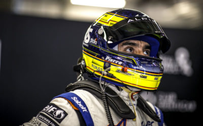 PIERRE RAGUES AIMS HIGH WITH SIGNATECH ALPINE ELF AT 13TH LE MANS
