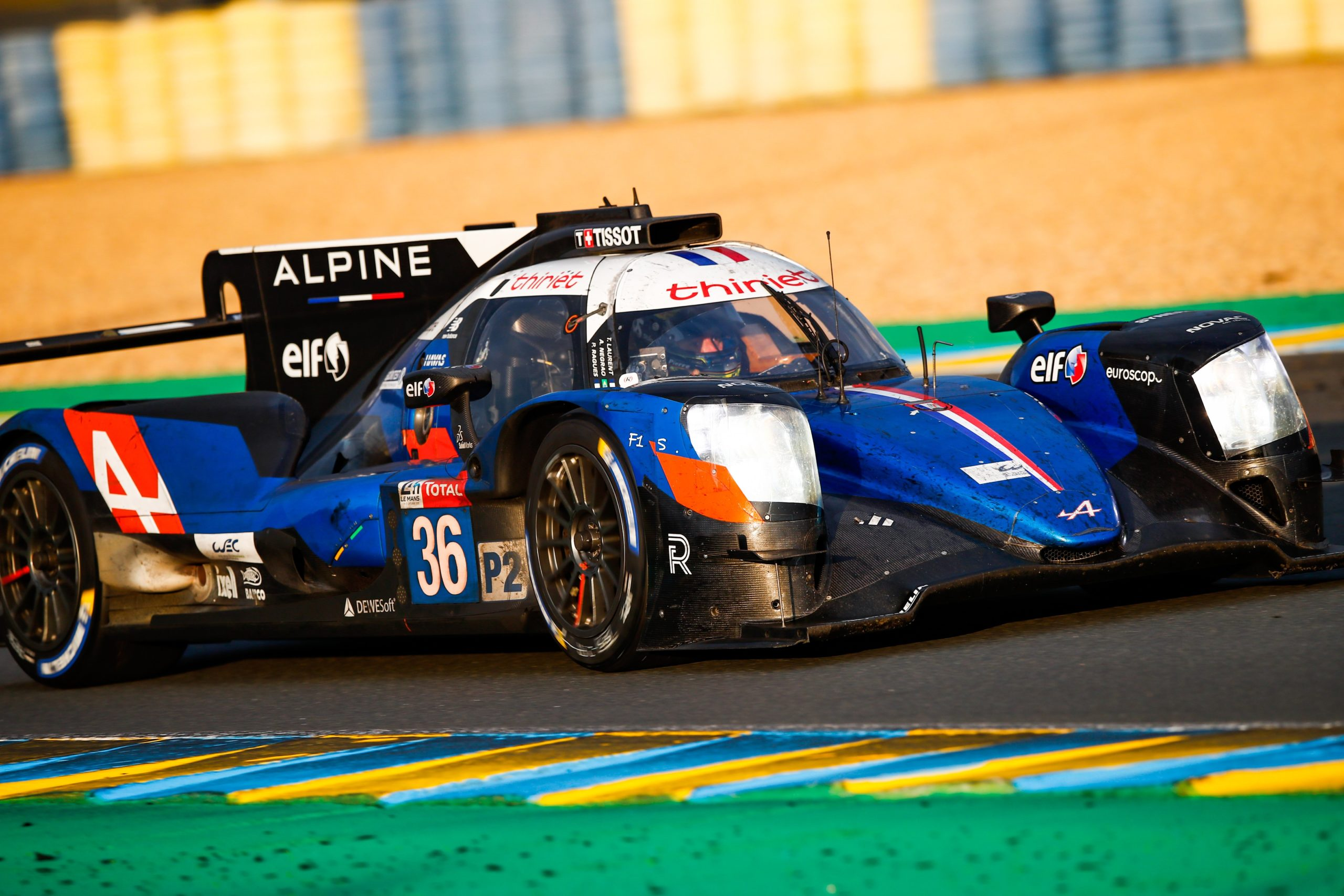 PIERRE RAGUES AND SIGNATECH ALPINE ELF FIGHT BACK TO FOURTH WITH DETERMINED LE MANS 24 HOURS