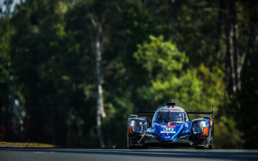 PIERRE RAGUES AND SIGNATECH ALPINE ELF READY TO RACE FOLLOWING CONDENSED LE MANS SCHEDULE