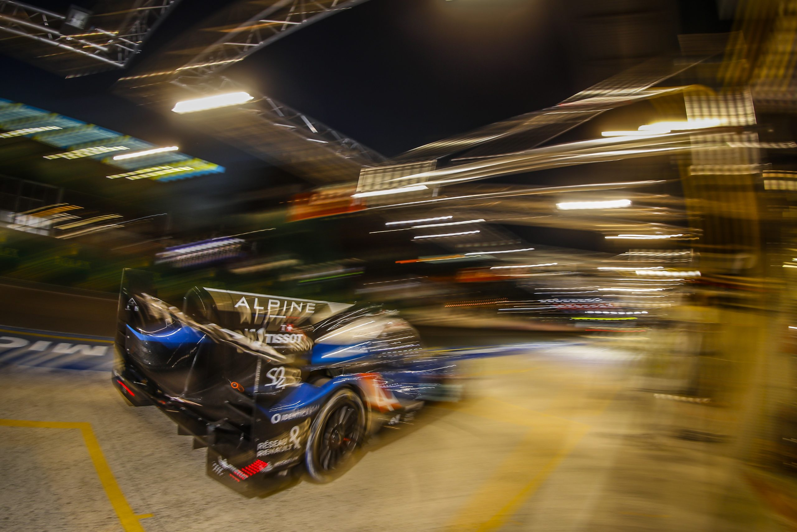 24 HOURS OF LE MANS – UPDATE AFTER 8 HOURS