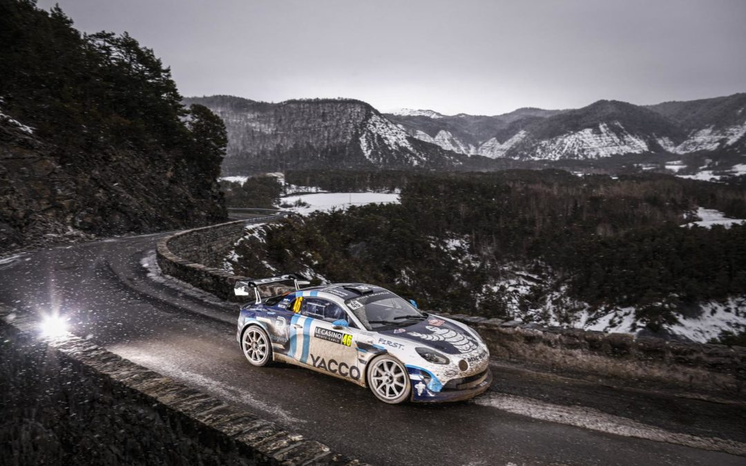 PIERRE RAGUES FIGHTS TO THE FINISH AT EPIC RALLYE MONTE-CARLO